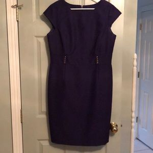 Tahari ASL Cap Sleeve Dress